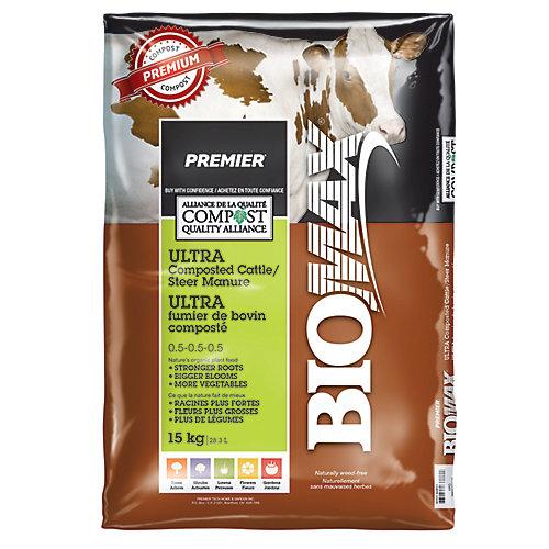 PREMIER<sup>®</sup> BIOMAX<sup>®</sup> Ultra fumier de bovin composté