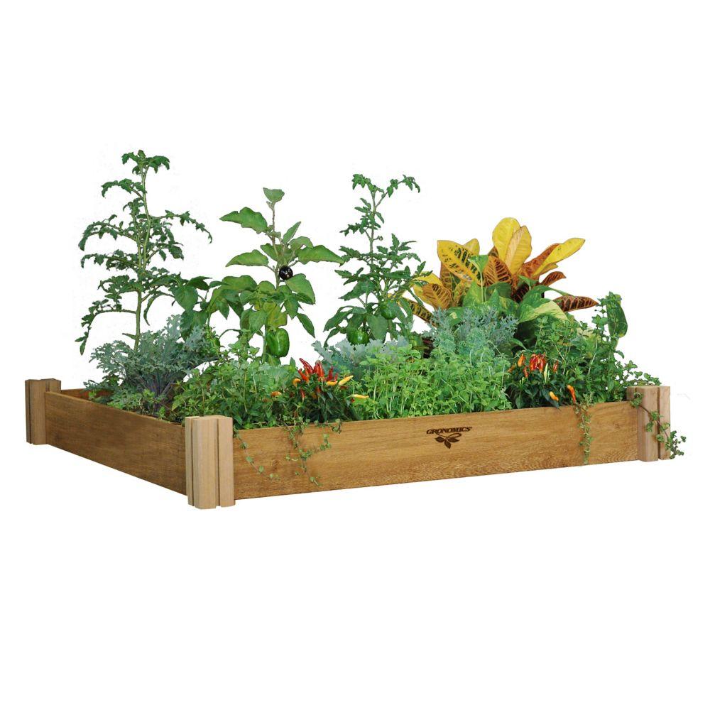 Modular Raised Garden Bed 48x48x6.5 - One Level