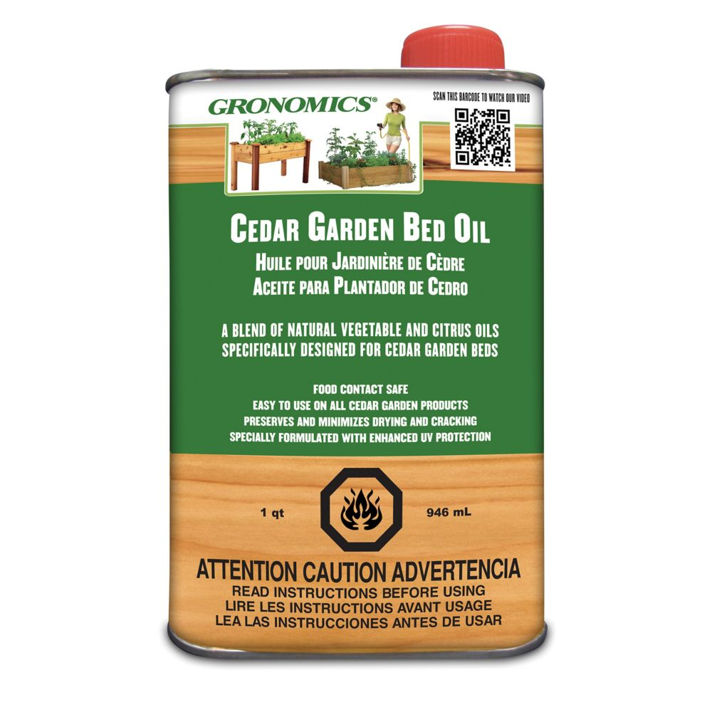 Cedar Garden Bed Oil - 1 Quart