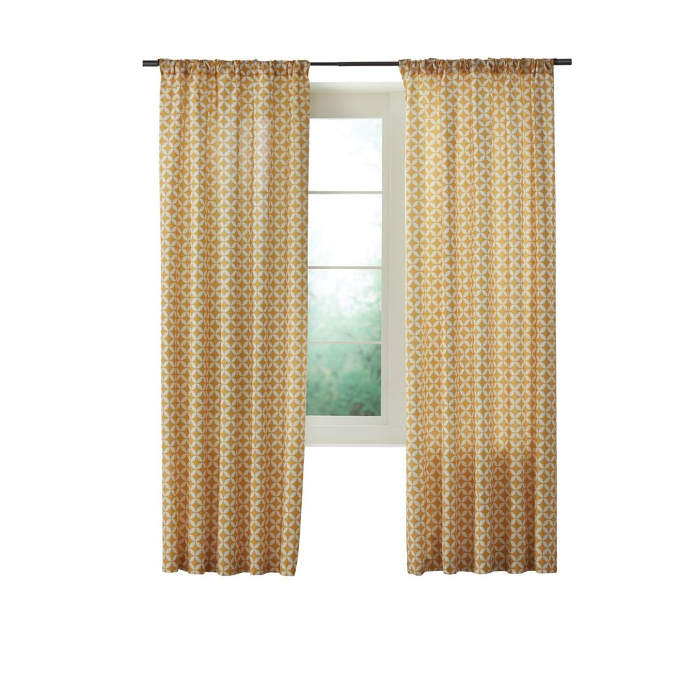 Home Decorators Collection Hadley Gold 52 Inches X 84 Inches Length The Home Depot Canada