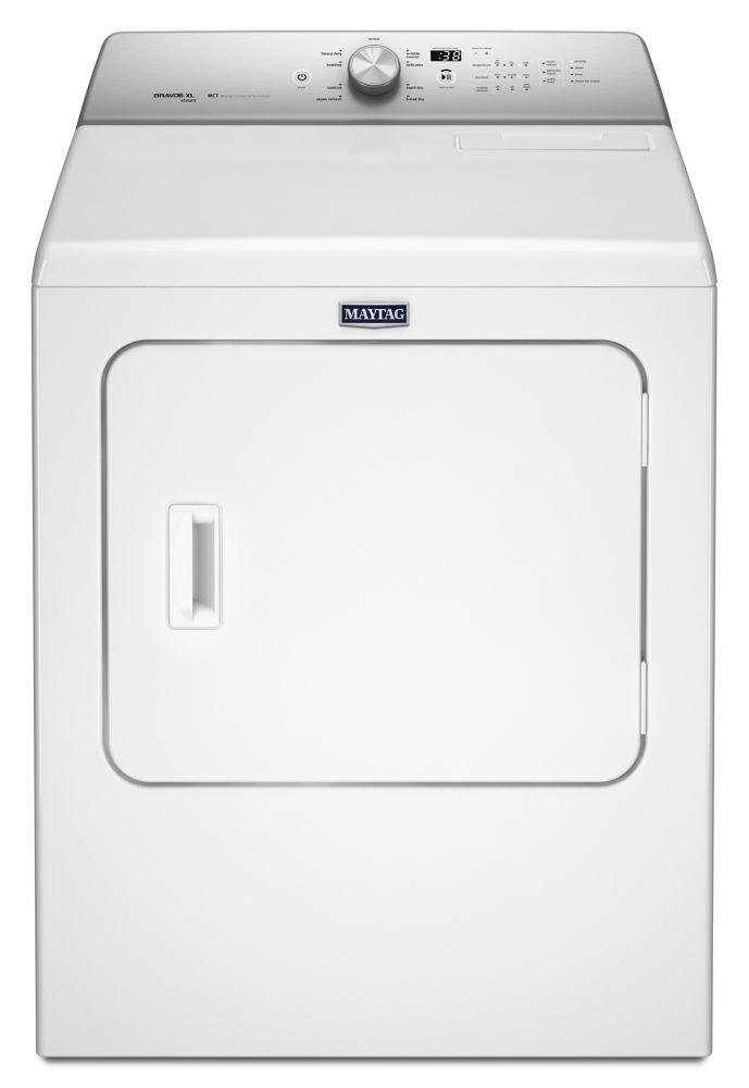 7.0 cu. ft. Dryer with Rapid Dry Cycle in White