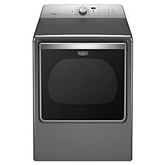8.8 cu. ft. Front Load Electric Dryer in Chrome Shadow - ENERGY STAR®