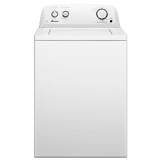 4.1 cu. ft. High-Efficiency Top-Load Washer with Porcelain Tub in White