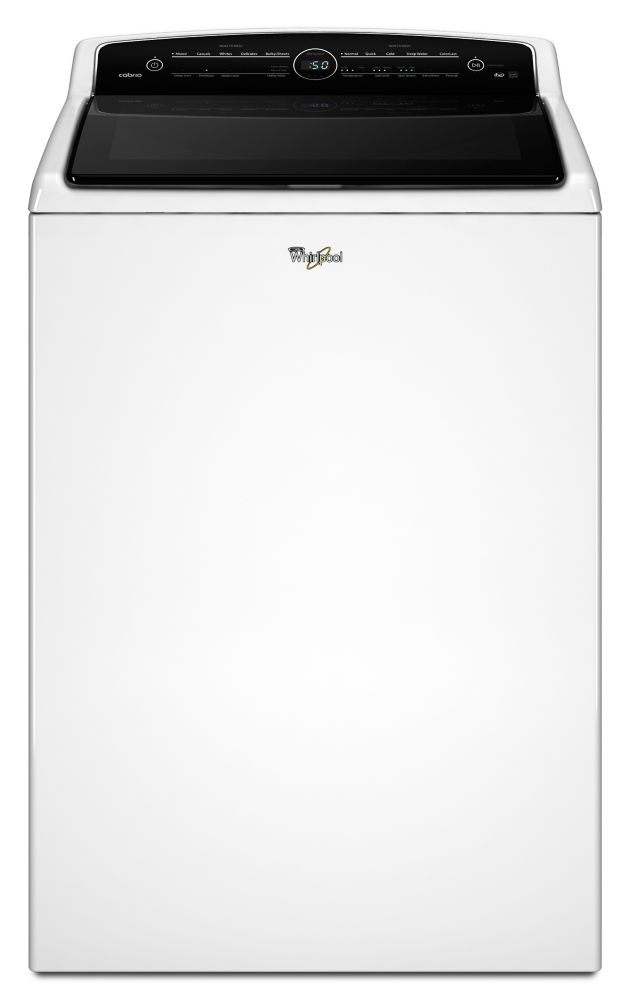 Cabrio<sup>®</sup> 6.1 cu. ft. High-Efficiency Top Load Washer with Precision Dispense in White
