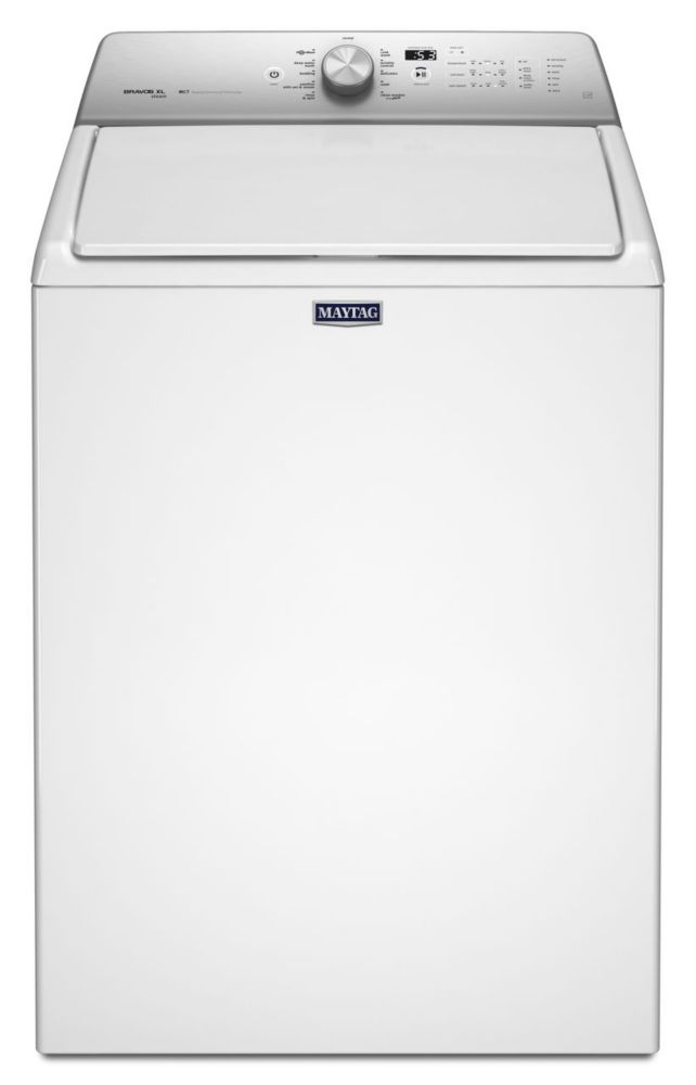 5.5 cu. ft. Top Load Washer with Steam Enhanced Cycles in White