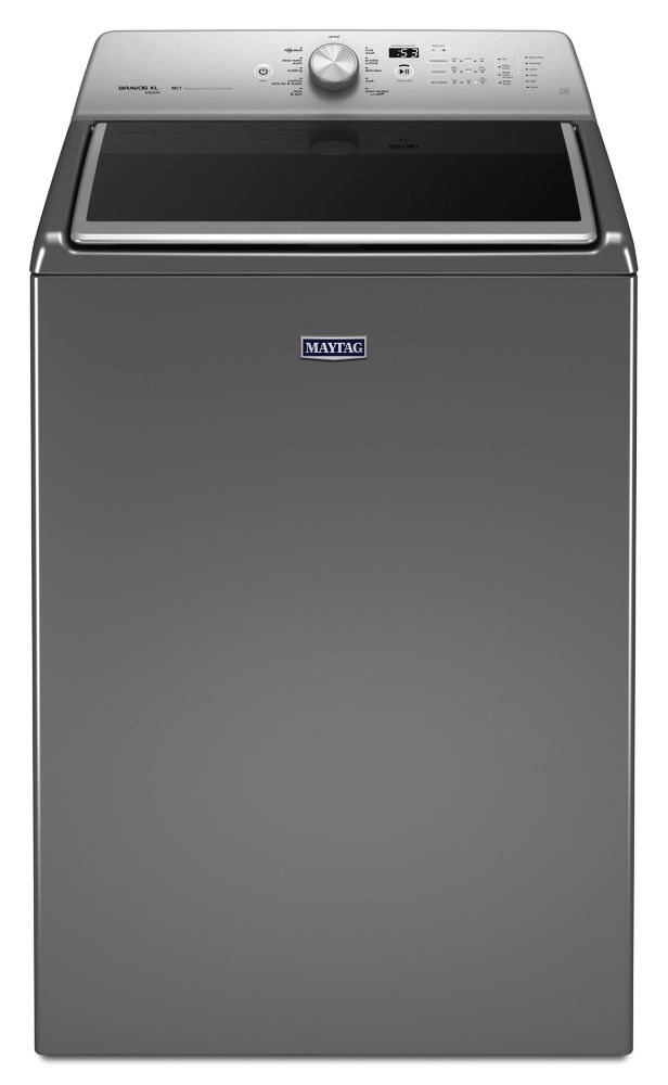 6.1 cu. ft. Top Load Washer with PowerWash System in Chrome Shadow