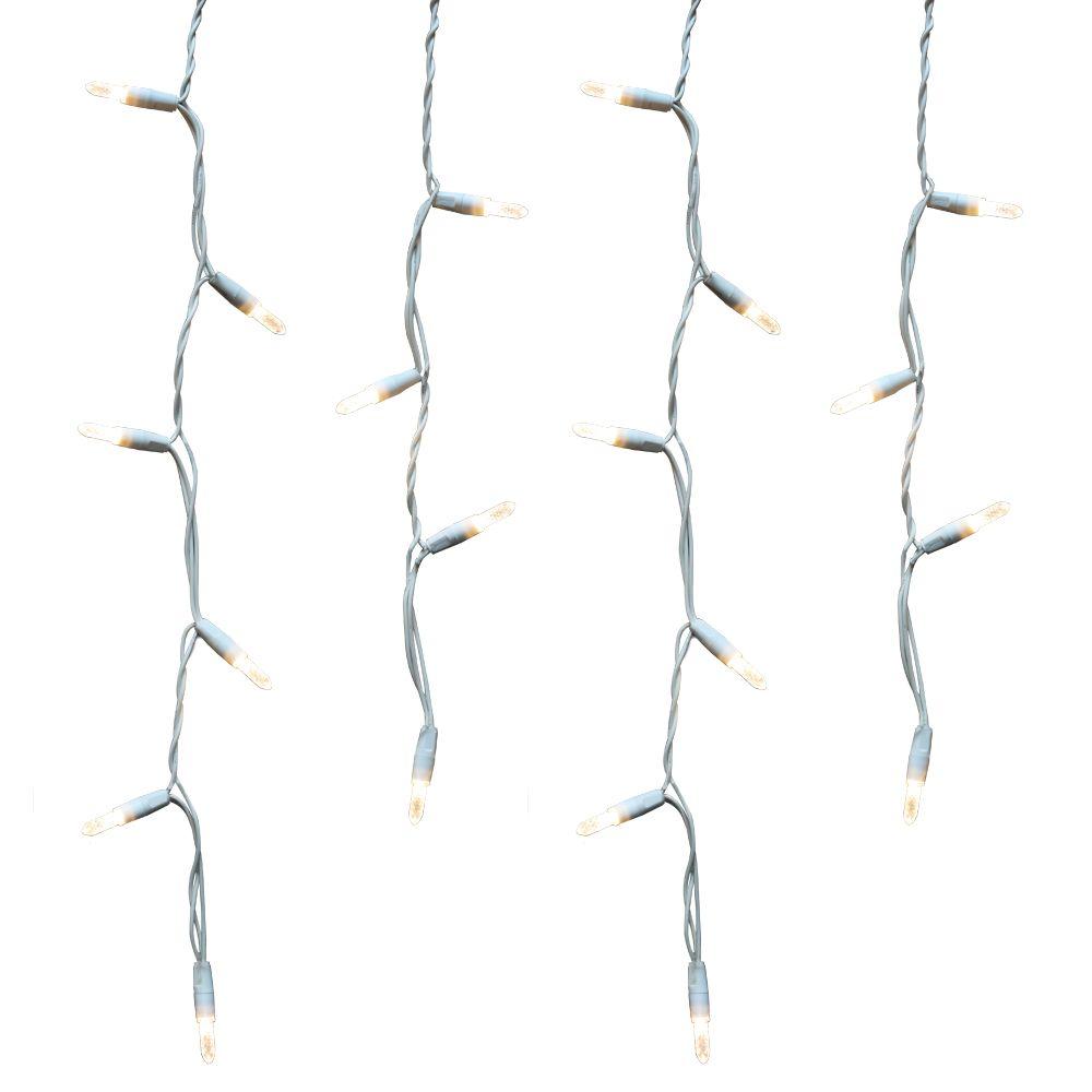 LED 100L ICICLE - White