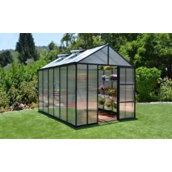 Palram Glory 8 ft. x 12 ft. Heavy Duty Greenhouse