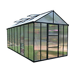 Palram Glory 8 ft. x 16 ft. Heavy Duty Greenhouse