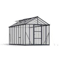 Palram Glory 8 ft. x 16 ft. Heavy Duty Greenhouse
