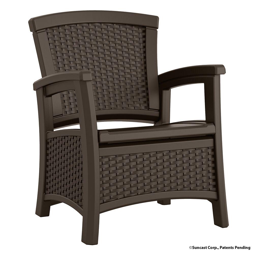 Club Chair with Storage