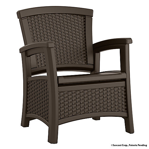 Outdoor Club Chair with Storage