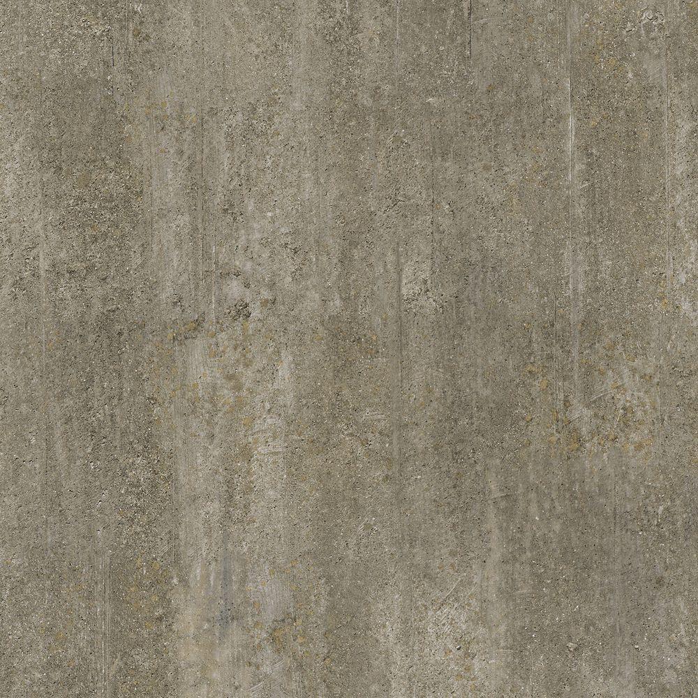 12 in. x 23.82 in. Golden Concrete Luxury Vinyl Tile Flooring (Sample)