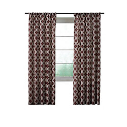 Home Decorators Collection Essex Curtain, Brown  - 52 Inches X 84 Inches (Length)