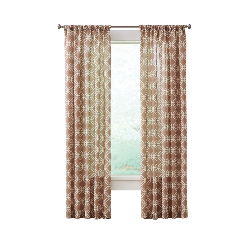 curtains ideas taupe of amp curtain medallion design donatella shower best rings and scheme lilac