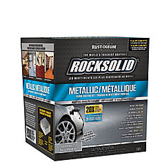 Rustoleum Rocksolid Kit Diamond Coat Silver Bullet