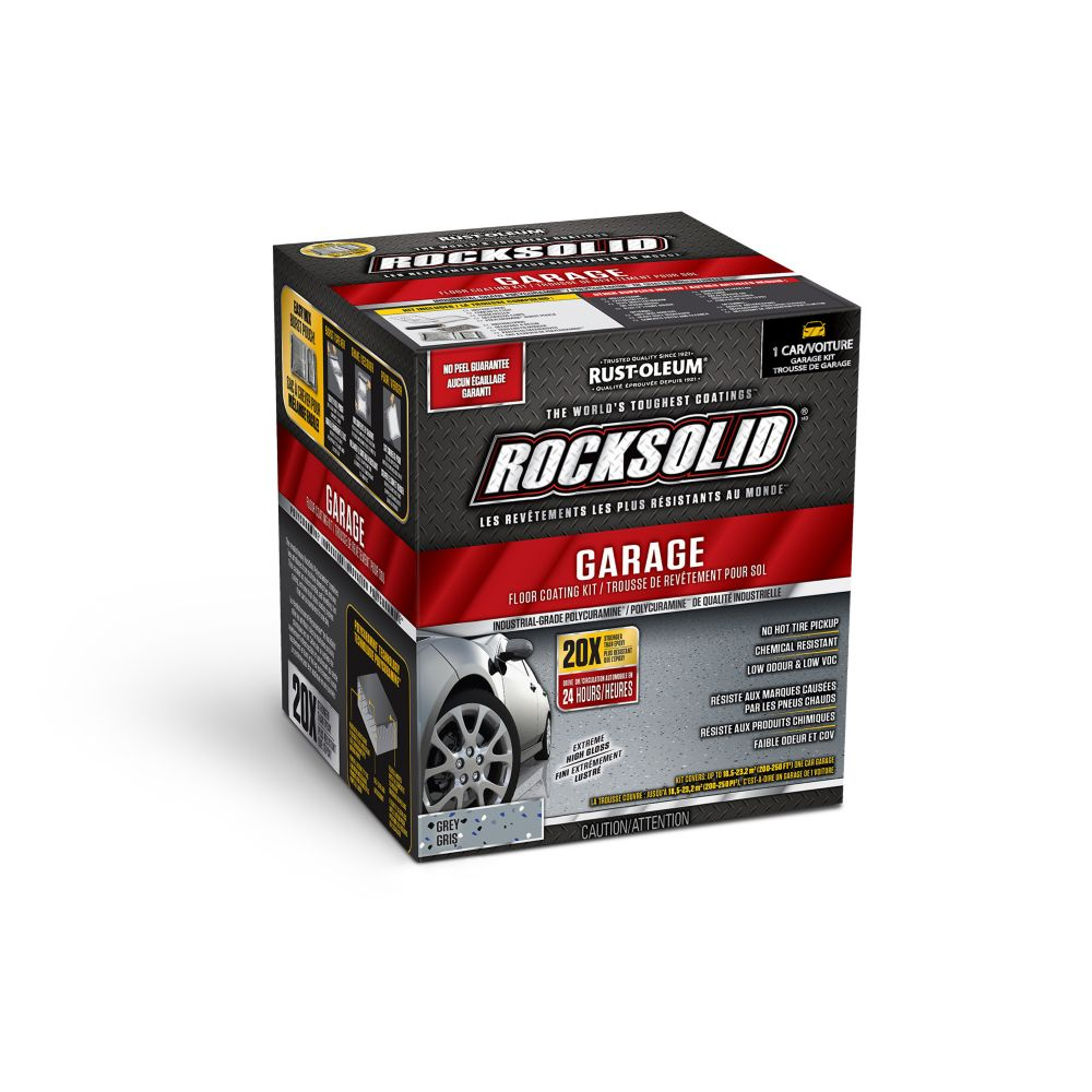 Rustoleum Rocksolid Garage Coat Kit Grey