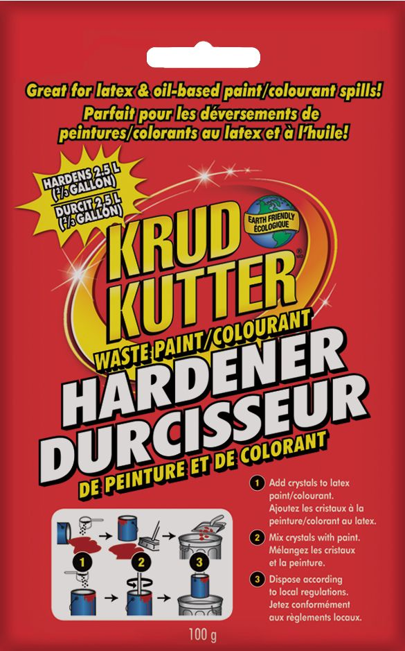 Krud Kutter Waste Paint Hardener Bag