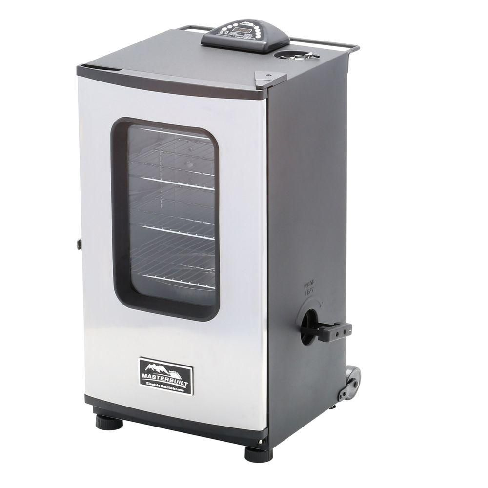 30-inch Electric Smokehouse BSW with Window and RF Remote