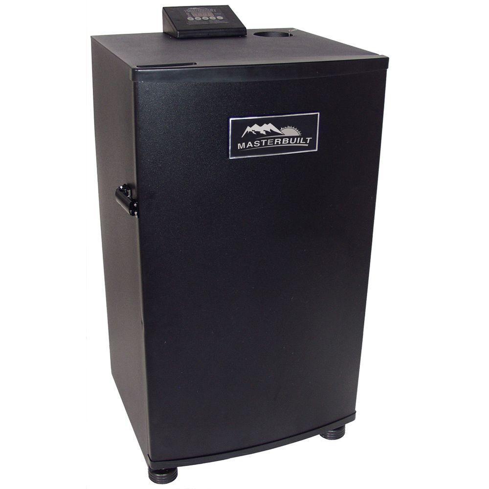30-inch Electric Digital Smokehouse in Black
