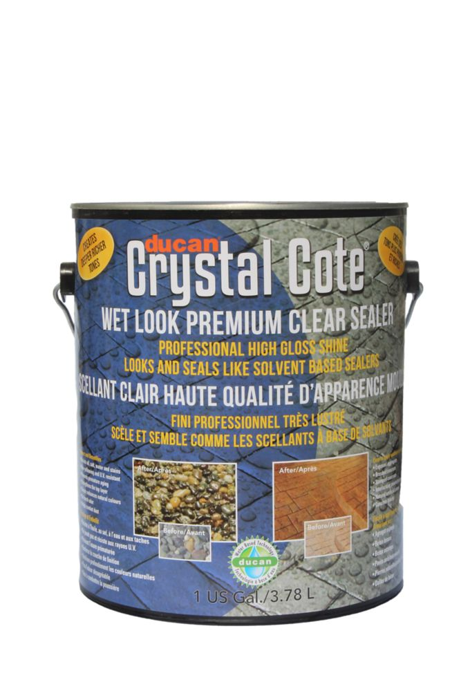 Premium Concrete Driveway & Patio Glaze is a superior waterbased driveway and patio sealer with a...