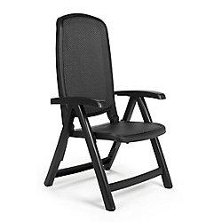 Nardi Charbon Delta 5 position de chaise pliante