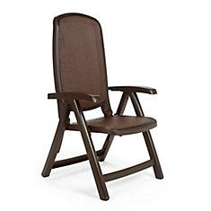 Nardi Café Delta 5-Position Patio Folding Chair