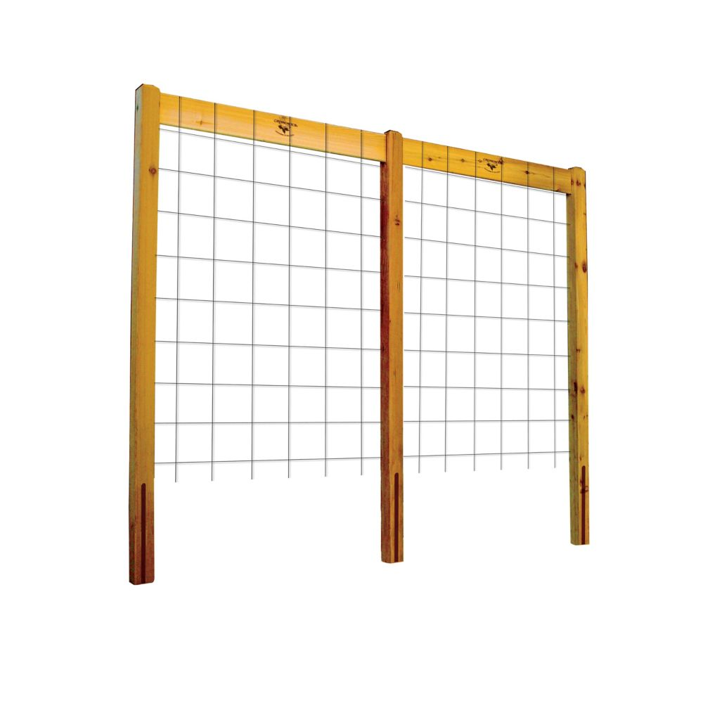 95-inch x 80-inch Raised Garden Bed Trellis Kit