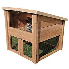 Chicken Coop Pet Cottage 45x45x48