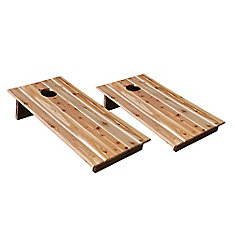 24-inch x 48-inch x 12-inch Bean Bag Toss Game Finished Boards