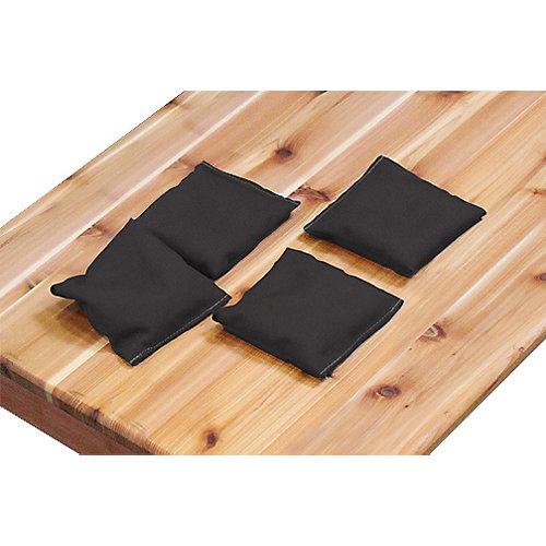Black Bean Bags (4-Pack)