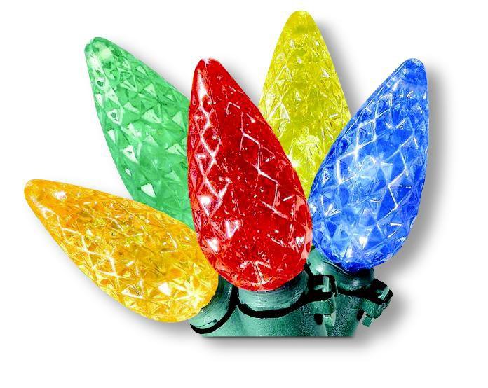 35 LED C6 Lights Multi-Colour