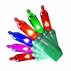 Home Accents Holiday Guirlande lumineuse à 200 mini-ampoules, multicolore