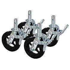 8-inch Scaffold Caster Wheel (4-Pack)