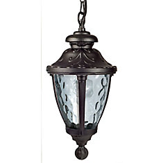 Outdoor Hanging Light Black, Compatible with sun shelters