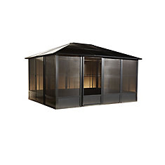Korado 10 ft. x 10 ft. Solarium in Charcoal