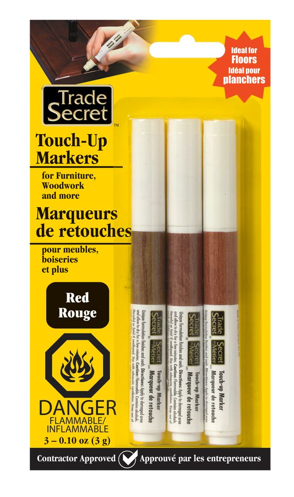 Touch-Up Marker - Red - Set of 3 (S)