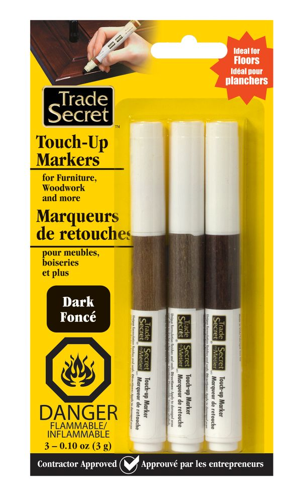 Trade Secret Touch-Up Marker - Dark - Set of 3 (S)