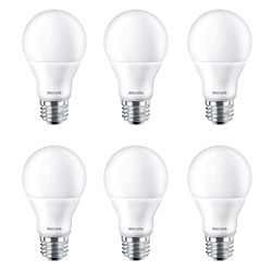 Philips LED 60W A-Line (A19) Daylight (5000K) - Case of 6 Bulbs - ENERGY STAR®