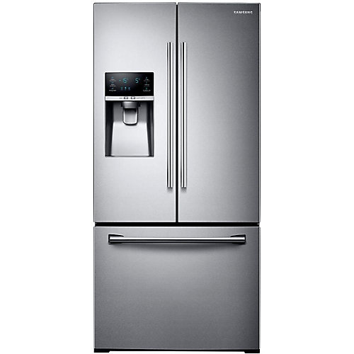 33-inch 25.5 cu. ft. French Door Refrigerator with Ice Dispenser in Stainless Steel - ENERGY STAR®