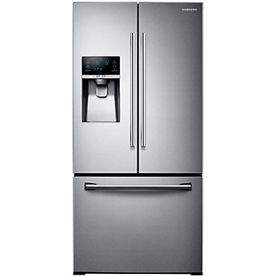 Samsung 33 Inch 255 Cu Ft French Door Refrigerator With Ice