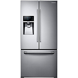 Samsung 33-inch W 25.5 cu. ft. French Door Refrigerator in Stainless Steel - ENERGY STAR®