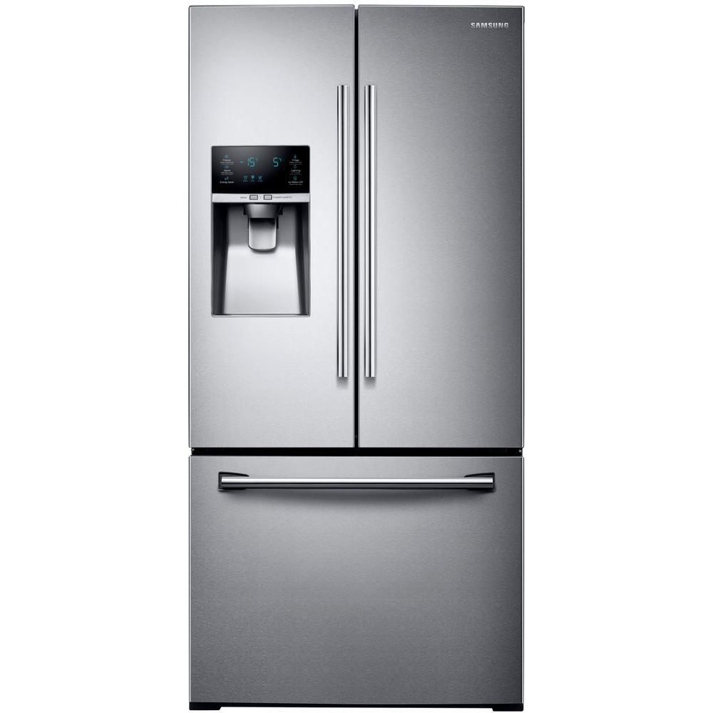 refrigerator reg ft door in refrigeration and bottom with infinity ice shelf refrigerators freezer slide cu french