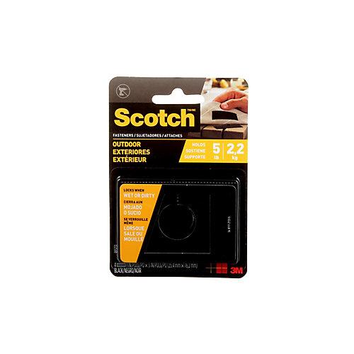 Scotch Outdoor Fasteners,1 Inch. X 3 Inch.