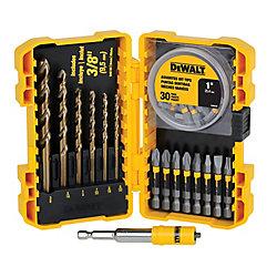 DEWALT 46 Piece MAX FIT Drill/Drive Bit Set