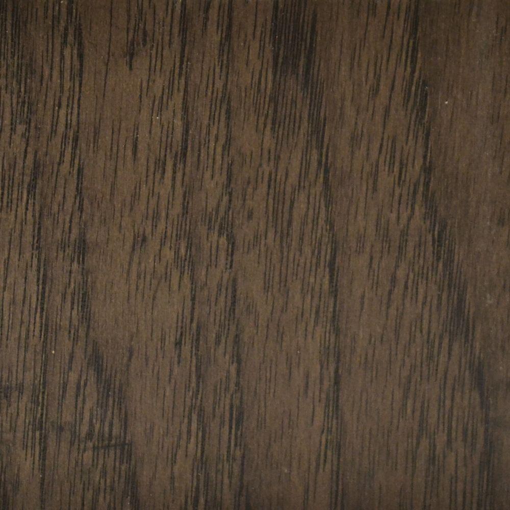 Échantillon, Plancher, bois massif, Caryer fumé