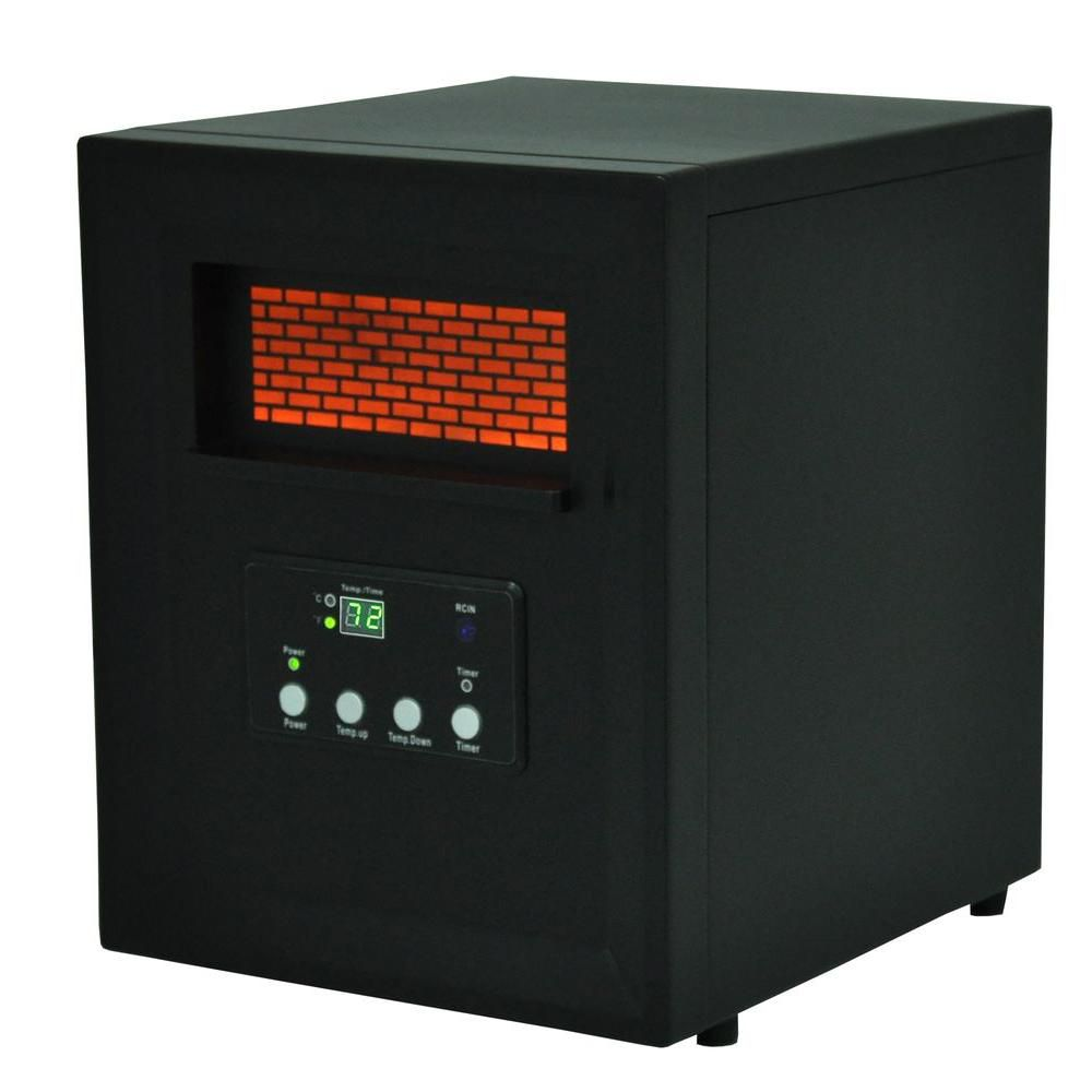 4 élément chambre de taille moyenne de chauffage infrarouge w/à distance
