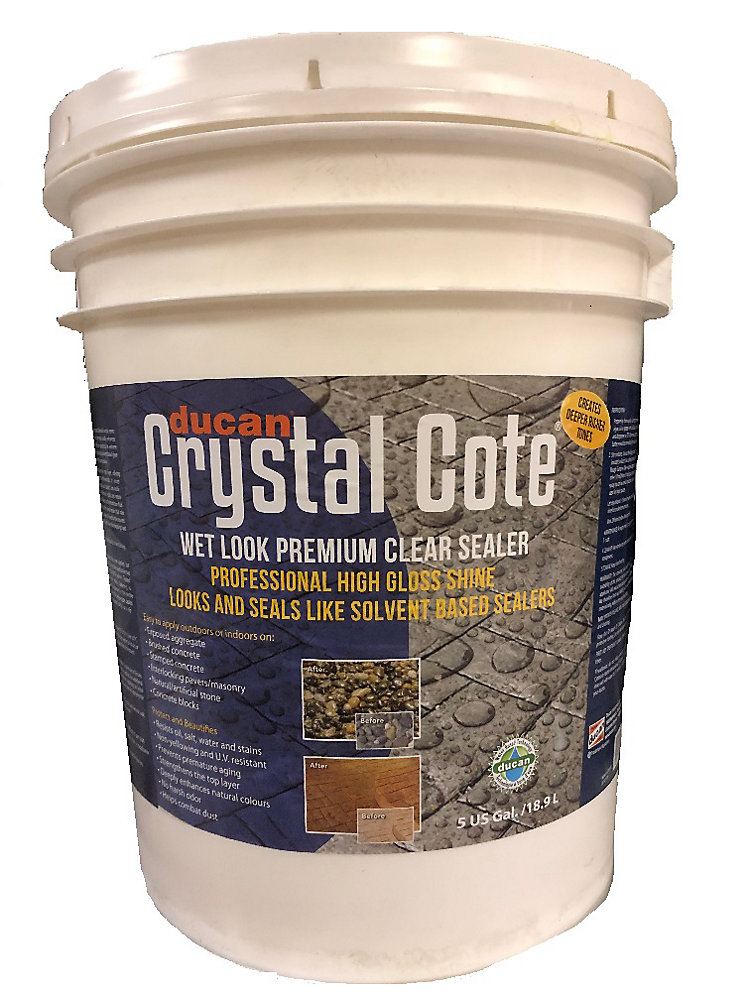 Wondrous Premium Concrete Driveway Patio Glaze Is A Superior Water Based Driveway And Patio Sealer With An Extreme High Gloss Wet Look Shine Can Be Used Interior Design Ideas Skatsoteloinfo
