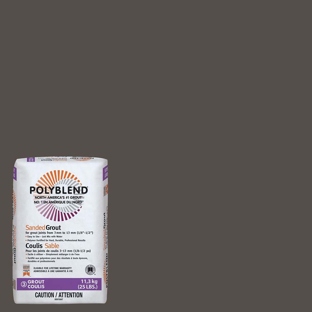 #540 Truffle 25lb Sanded Grout CPBG54025 Canada Discount