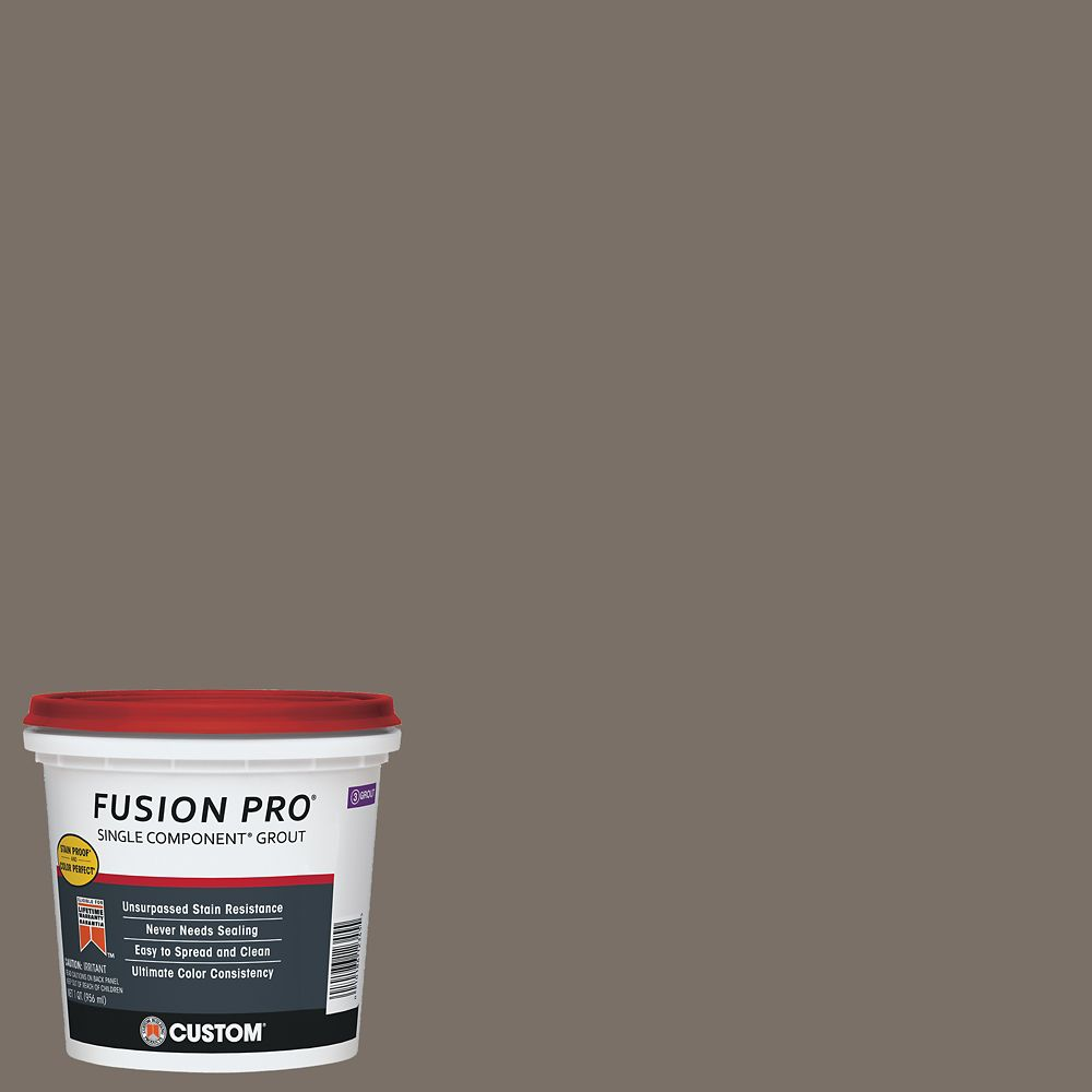 #185 New Taupe Fusion Pro 1 qt.